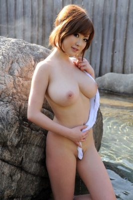 Japanese beautiful nude girl with big tits