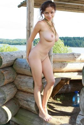 Russian sexy naked girl with big breast