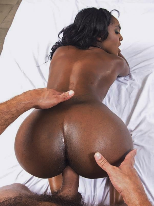 Butt fucking black female videos