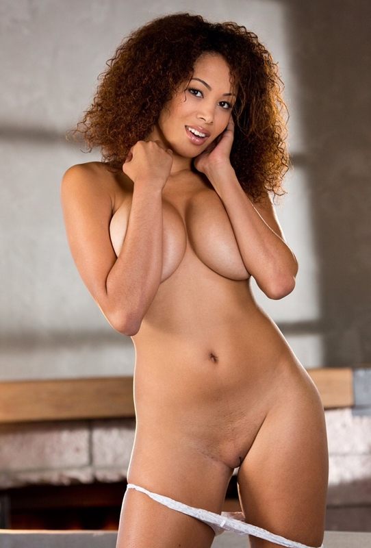 Nude Ebony Woman With Bald Pussy  Nude Girls Picture-7436