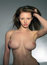 Big boobs slim nude girl