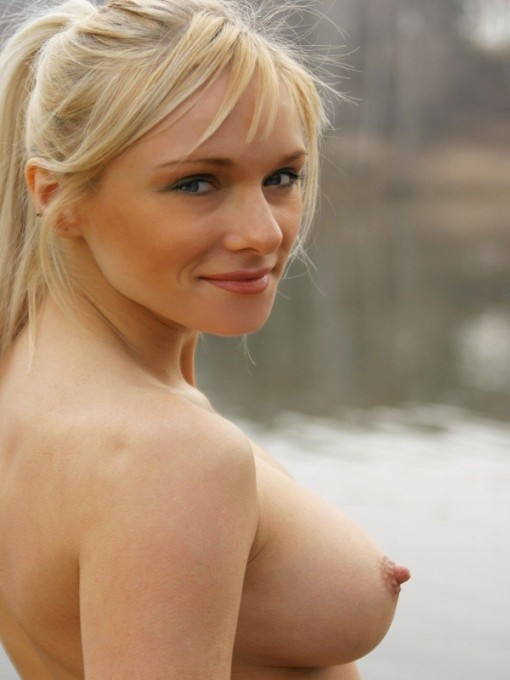 Public busty girl full naked small bikini