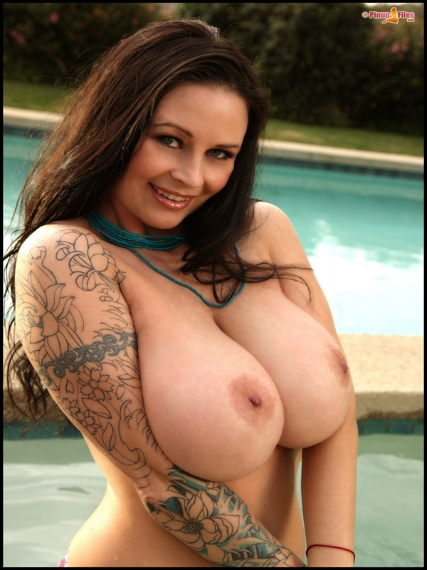 Big tit grls with tattoos