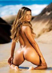 Great tanned naked ass