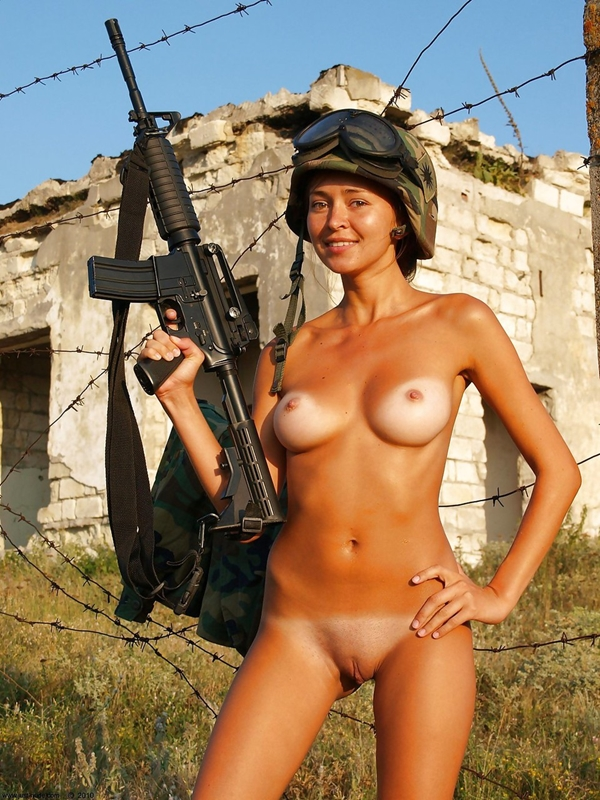 Sexy russian military girl nude