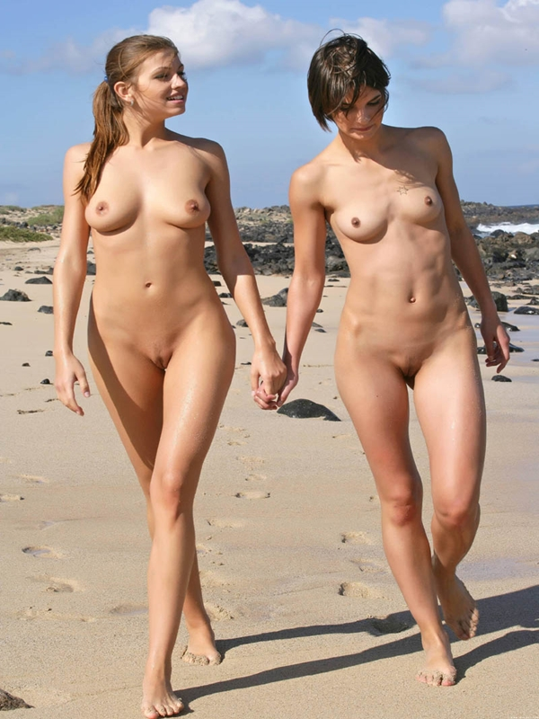 Nude Beach Girl