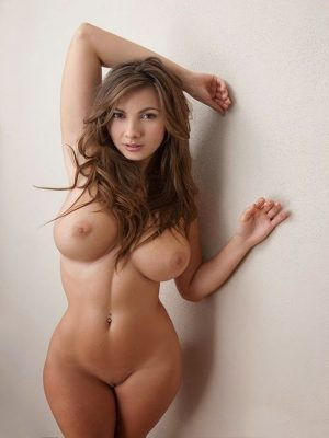 Round melons nude girl