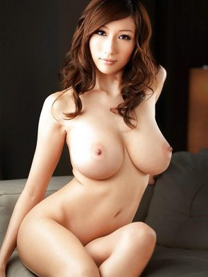 Sweet busty naked Asian